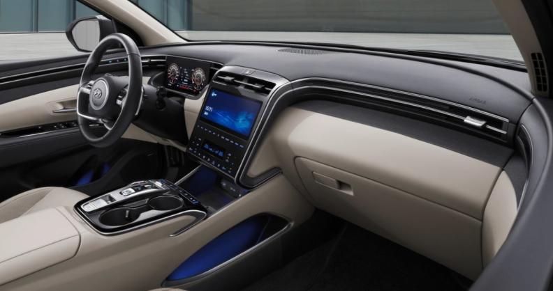 Hyundai Tucson iç tasarım 2021